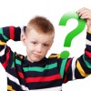 boy with question mark